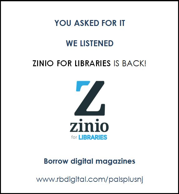 Zinio digital magazines available again