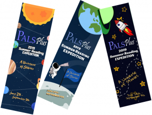 2019 PALS Plus Summer Reading Bookmarks