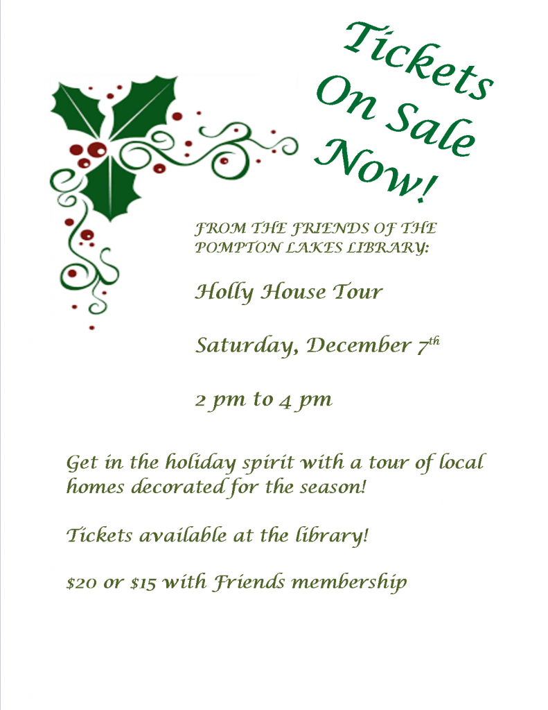 Holly House Tour 2019 - December 7, 2-4 p.m. - On Sale Now