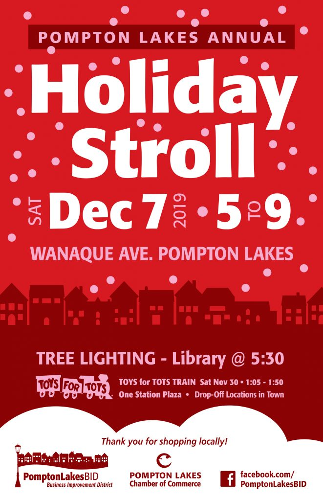 Holiday Stroll December 7 2019 5pm to 9pm