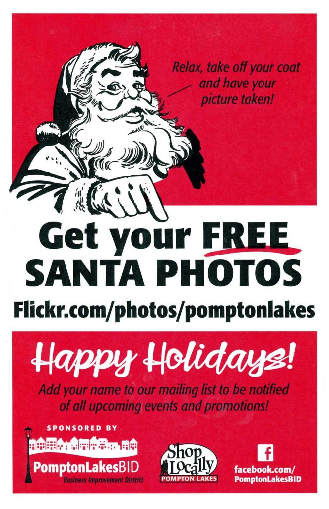 Holiday Stroll 2019 Santa Pictures: flickr.com/photos/pomptonlakes